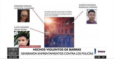 Autoconvocatoria ciudadana: policías siguen identificando a provocadores y violentos