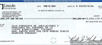 Caja de Itaipú recuperó US$ 3,5 millones de inversiones fraudulentas