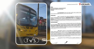TRANSPORTISTAS ANUNCIAN PARO TOTAL SI NO OBTIENEN RESPUESTA DEL EJECUTIVO MUNICIPAL