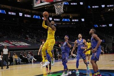 'Team' LeBron se adueña del Juego de Estrellas con Giannis como MVP