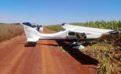 Narcoavioneta aterriza de manera forzosa en estancia de San Cristóbal