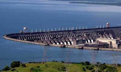 Itaipu suministró 2.686 GWh de energía eléctrica a Paraguay en el primer bimestre del 2021