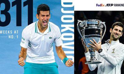 Novak Djokovic supera a Roger Federer como el mejor número 1