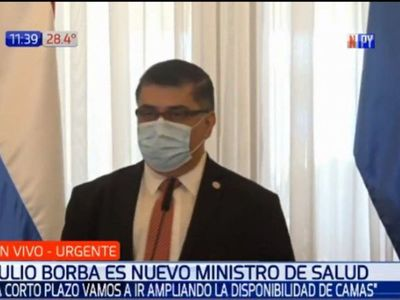 Nuevo ministro de Salud recomendó que se suspendan clases presenciales