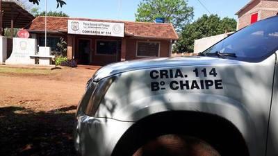 POLICÍA DETIENE A SUPUESTO VIOLADOR EN CHAIPÉ.
