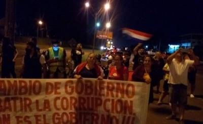 Convocan a cuarto día de protesta en Ciudad del Este