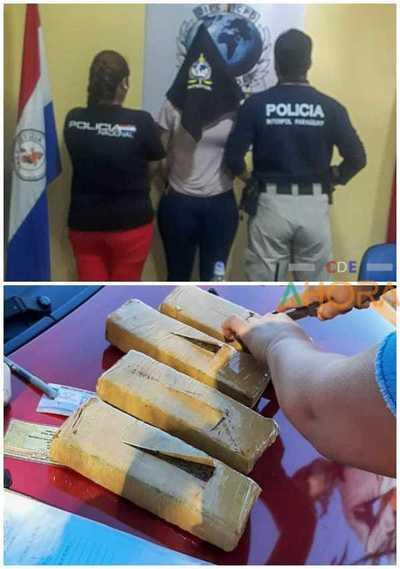 """Agentes de INTERPOL retuvieron a """"MULA"""" por 2 horas para luego comunicar a FISCAL"""