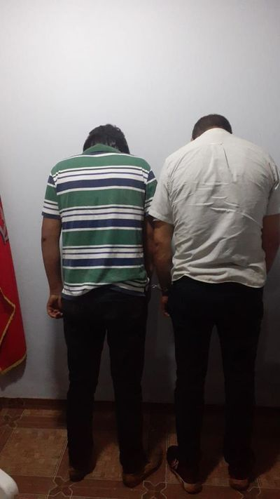 Caen presuntos ladrones de fallido asalto