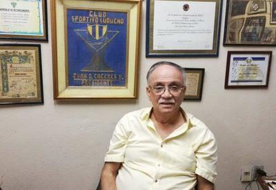Juan Darío Cáceres y una vida dedicada al club