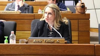 """""""Sin los votos colorados no hay juicio político"""", afirma diputada."""