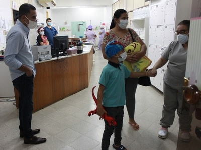 NIÑO RETOMA VIDA FAMILIAR TRAS EXITOSO TRASPLANTE DE MÉDULA ÓSEA.
