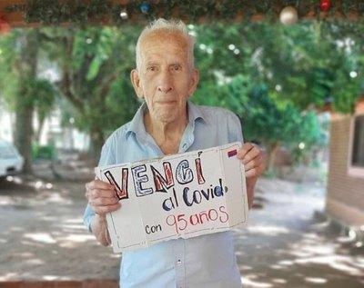 Crónica / Abue de 95 años vence al covid-19 en Itacurubí