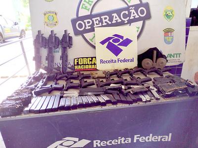 Importante decomiso de armas de fuego en Foz corrobora intenso tráfico desde CDE