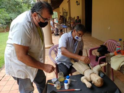 Continúa la restauración en la Iglesia San Lorenzo Mártir de Altos, Cordillera