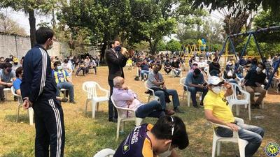 Fijan nueva fecha de asamblea en Luqueño para renovación total de autoridades •