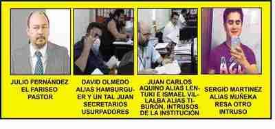 ROSCA DE ADUANEROS, CATERVADE CORRUPTOS Y COIMEROS!!!