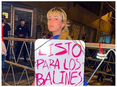 Jessica Servín denunció que policías le dispararon