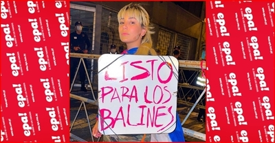 "Jéssica Servín: ""lista para los balines"""