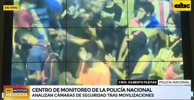 """Policía identifica y detiene a """"infiltrados"""" en manifestaciones"""