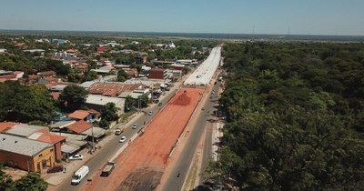 La Nación / Viaducto de 1.340 metros avanza en las obras de rampa de acceso