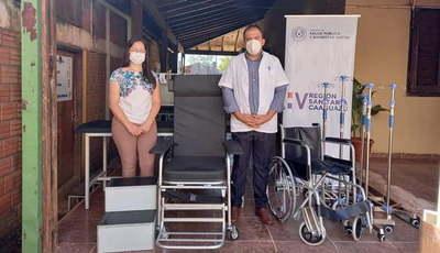 V Región Sanitaria entrega equipos biomédicos a hospitales
