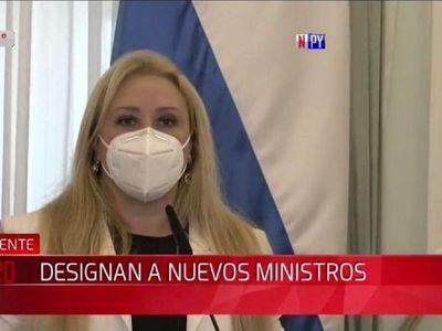 Celina Lezcano fue designada como ministra de la Mujer
