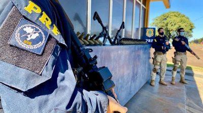 Cae en Brasil OTRO ARSENAL de armas TRAFICADO desde Paraguay