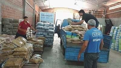MDS entregó víveres para la realización de almuerzos a familiares de internados