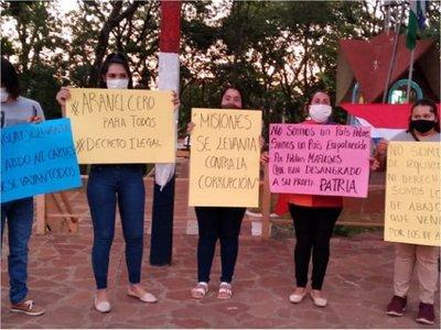 Universitarios reclaman derogación de artículos de ley de arancel cero