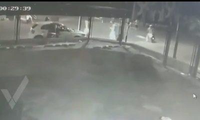 Publican video del atentado contra móvil de prensa