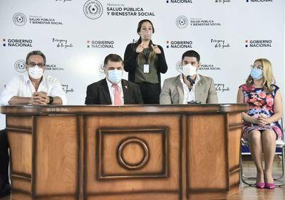 """COVID-19: """"alerta roja"""" sanitaria en Asunción y el departamento Central"""