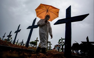 """Coronavirus fuera de control: """"Brasil es una amenaza para la humanidad"""""""