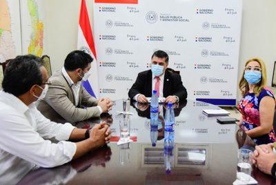 Autoridades de Asunción y Central trabajarán en conjunto con Salud ante alerta roja