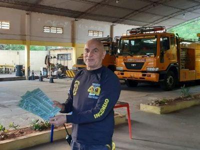 Fiscalía apeló medida ambulatoria para capitán de  bomberos