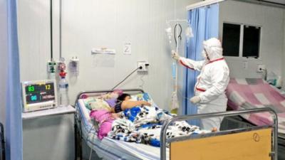 """""""Unos 25 pacientes están esperando camas"""""""