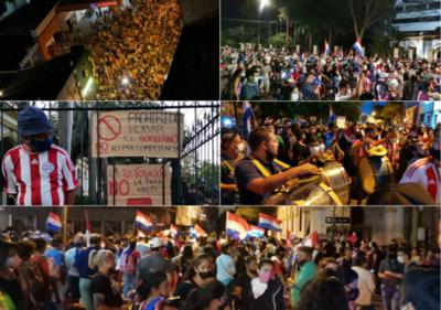 Día #7 de protestas: Todas las piezas que el Ejecutivo decidió mover hasta ahora