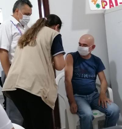 Califican día de fiesta en Caazapá por el inicio de la vacunación contra el coronavirus