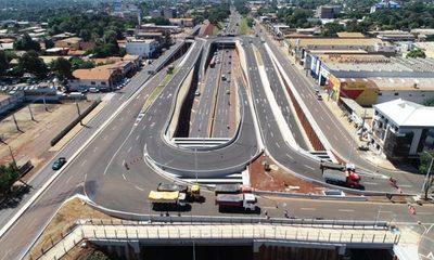 Realizaron pruebas de cargas en los puentes del Multiviaducto de CDE que financia ITAIPU