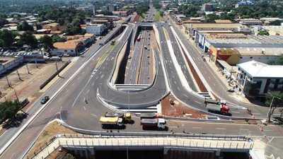 Realizaron pruebas de cargas en los puentes del Multiviaducto de CDE