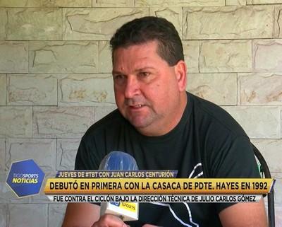 TBT con Juan Carlos Centurión, exjugador de Guaraní