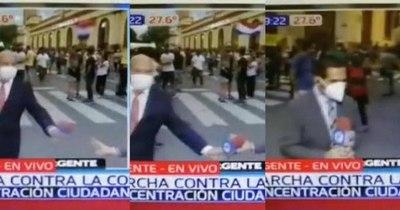 La Nación / (Video) Pifiada viral de medios del Grupo Vierci en el MarzoParaguayo2021