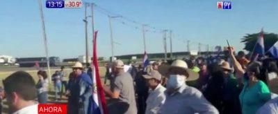 San Pedro: Pobladores protestan contra la corrupción