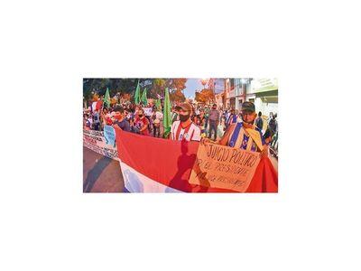 Tras una semana, las protestas se expanden a varias zonas del país