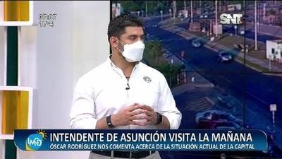 LMCD: Recibimos al Intendente de Asunción Óscar Rodríguez