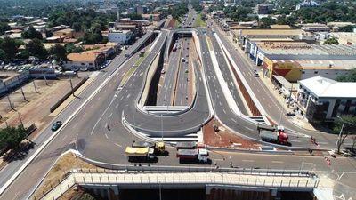 Obras del multiviaducto de CDE entran en etapa final