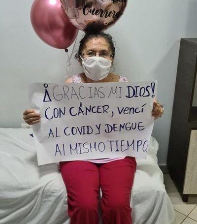 Con cáncer, supero al dengue y COVID-19