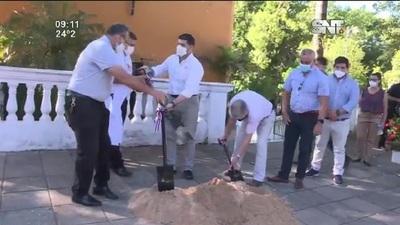 Capilla María Auxiliadora: Inician las obras de remodelación