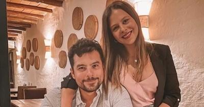"""""""El sexto cumpleaños juntos"""" Andrea Quattrocchi festeja un año más de su esposo Darío"""