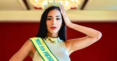 Miss Eco no podrá viajar a certamen mundial y renuncia