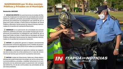 AGENTES DE TRÁNSITO AUMENTARÁN CONTROLES ANTE EMERGENCIA SANITARIA EN ENCARNACIÓN.
